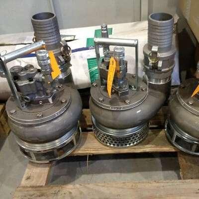 Помпа для строительных работ S3TR с гидравлическим приводом от производителя HYDRA-TEСH
