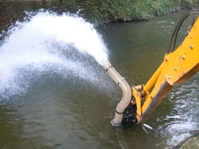 Работа помпы СП55 ДОА от гидравлической системы трактора