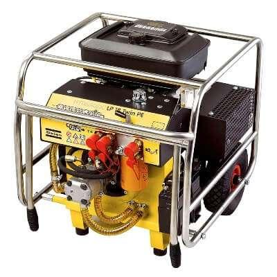 LP 18 Twin PE двухпостовая маслостанция гидравлическая Atlas Copco