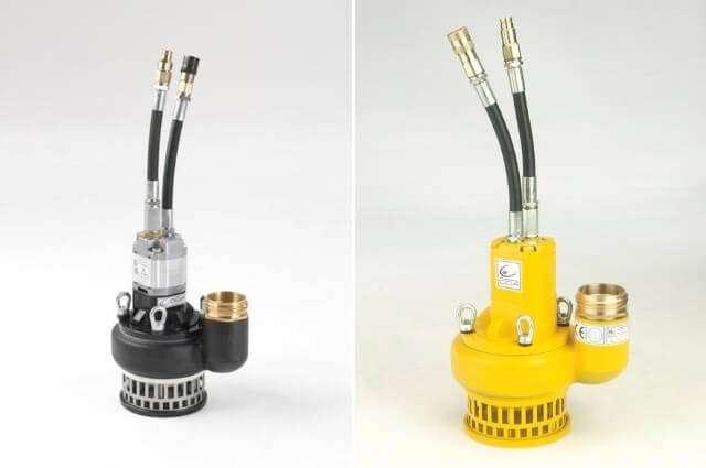 WP 25 является профессиональным водяным насосом с гидравлическим приводом, предназначенным для откачки чистой и загрязненной воды